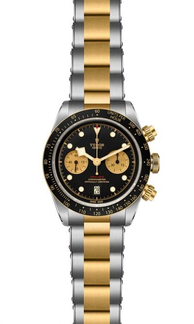 Black Bay Heritage Chrono S&G